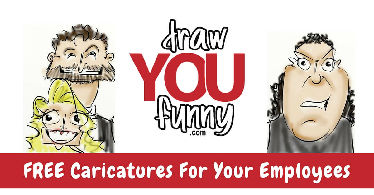 FREE Caricatures for Your Employees
